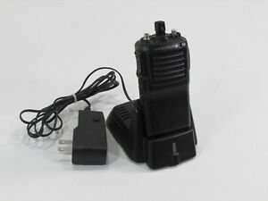 Vertex 2 Way Radio Vx 231 ad0b 5 Vhf With Charger And Adapter