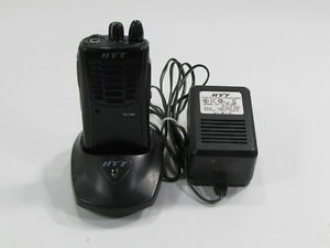 Hyt 2 Way Radio Tc 500v 2 With Charger Hyt Ch05n03 Mcu And Adapter