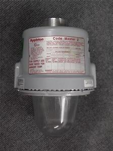 Appleton 250 Watt Hid Explosion Proof Light Fixture Code Master 2 cmbp250mt