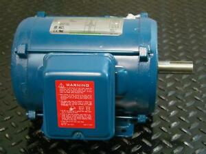 Century Ii Ao Smith 3hp Electric Motor 230 460v 3 phase 3470rpm T35004e