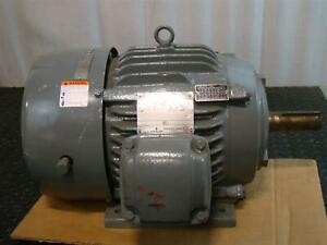 Us Motors Emerson Electric Motor 15hp 230 460v 3 1775rpm Af96 X15e2b