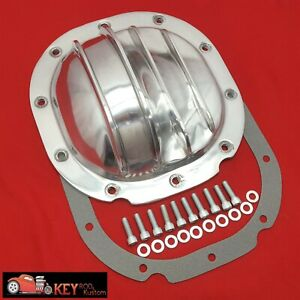 Finned Aluminum Ford 8 8 Differential Cover F150 Mustang Explorer 302 351w Gt