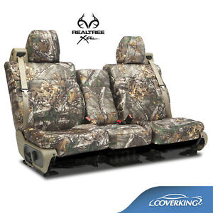 Coverking Neosupreme Realtree Xtra Camo Front Seat Covers For Toyota Tundra