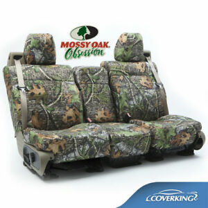 Coverking Neosupreme Mossy Oak Obsession Camo Seat Covers For Toyota Tacoma
