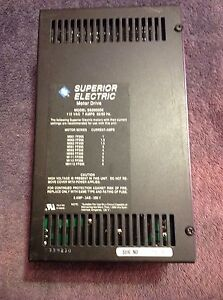 Superior Electric Motor Drive Slo syn 2000 Model Ss2000d6