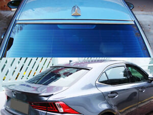 Painted Black Rear Window Roof Spoiler For Honda Accord 2d Coupe 2013 2015