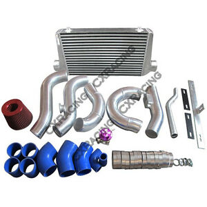 Cxracing Intercooler Radiator Pipe Turbo Intake Kit For Lexus Gs300 2jz Gte