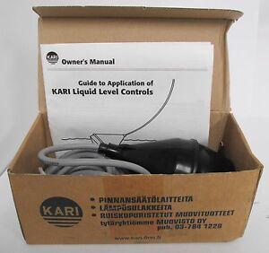 Kari 22284 M1h Mini Float Switch High Level Alarm Or Magnetic Valve Control 76mm