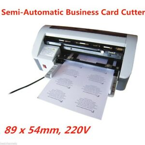 Desktop Semi automatic Business Name Id Card Cutter Cutting Machine 3 5 2 1
