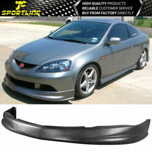 Fits 05 06 Acura Rsx Coupe Dc5 P1 Type Pu Front Bumper Lip Spoiler Bodykit