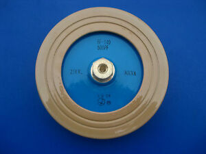 Dt140 500pf 25kv 90kva High Voltage Power Frequency Ceramic Capacitor j842 Lx