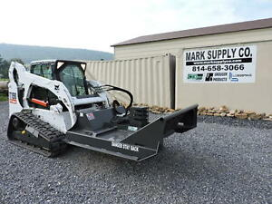 Cid Xtreme 60 Brush Hog Cutter Mower For Bobcat Skid Steer Loader Attachment