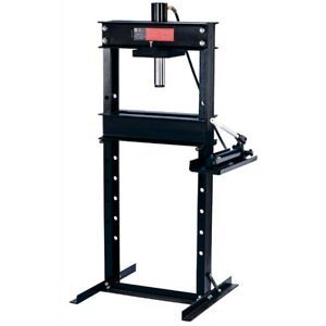 25 Ton Shop Press With Hand Pump Ome60253 Brand New