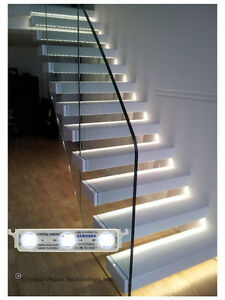 Samsung Installed Stairway Step Light Led Module 25ft White 2yr Warranty Korea