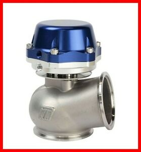 Turbosmart 60mm Blue Power gate With 14 Psi Spring External Wastegate