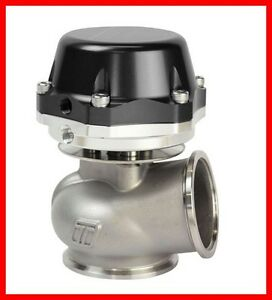 Turbosmart 50mm Black Power gate With 14 Psi Spring External Wastegate
