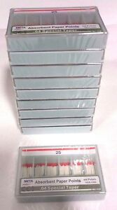 Dental Paper Points 04 Taper 25 10x Of 60 pack total 600pieces meta