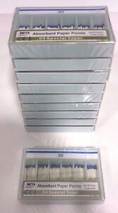 Dental Paper Points 04 Taper 30 10x Of 60 pack total 600pieces meta