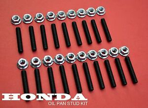 19 New Honda Civic Oil Pan Bolt Stud Kit D15 B16 Type R Vtec D H K Series