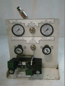 Hydraulic Control Station Panel Diverter Valve