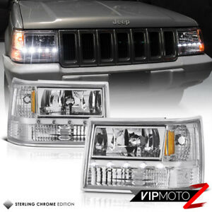 For 93 98 Jeep Grand Cherokee Zj 3in1 Signal parking headlight Led Smd Strip Bar