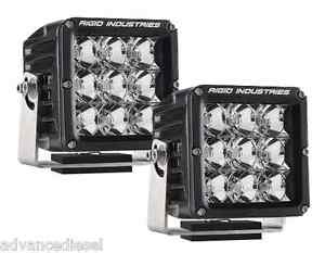 Rigid Industries Dually Xl Series White Led Flood Lights Pair 32211