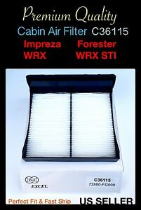 Cabin Air Filter For Forester Subaru Wrx Impreza Wrx Sti Crosstrek 2009 2017