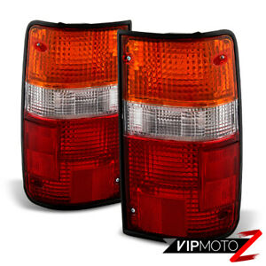 For 89 95 Toyota Pickup Pick Up Sr5 Dlx Rn02 Left Right Brake Tail Lights Lamps