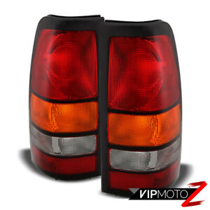 2004 2007 Gmc Sierra 1500 2500 3500 factory Style Rear Brake Tail Lights Pair