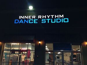 Led Sign inner Rhythm 18 Inches Tall Channel Letters