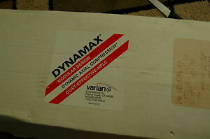 New Varian Dynamax Axial Compression Modular 41 4mm Id End Fit Kit R000083842