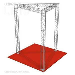 Trade Show Booth 10 X 10 X 12 Made Of Aluminum Triangle Trusses