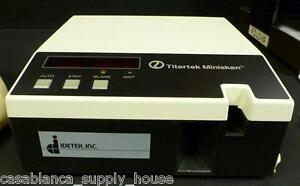 Titertek Miniskan 330 In Good Condition With Manual Manufactured 1983