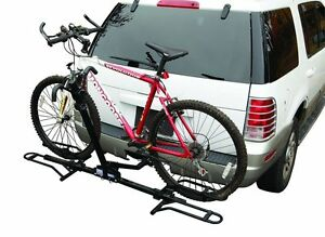 Pro Series 2 Bike Fold Down Hitch Mount 2 Bicycle Rack Carrier 1 1 4 And 2