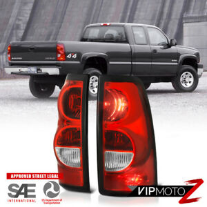 For 03 06 Chevy Silverado Factory Style Red Brake Signal Tail Light Left Right
