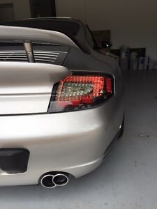 Porsche 911 996 Turbo Gt2 C4s Clear Smoke Led Tail Lights