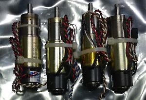 Faulhaber 2842p012c Brushed Dc Servo Motor gearhead 23 1 3 71 1 Lot Of 4