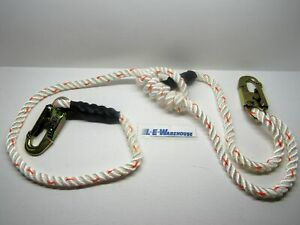 Arborist Lineman Spyder Climb Right 5 8 4 7ft 3 Strand Rope Lanyard 75111