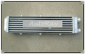 Turbo Aluminum Intercooler 550x140x70mm 2 Delta Fin Same Side Outs