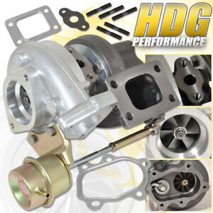 T25 T28 Oil Water Cooled Hybrid Turbo Charger With Actuator Internal Wastegate