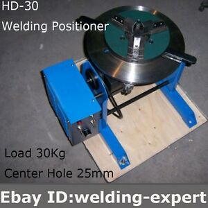 Hd 30 Rotary Welding Positioner Turntable Tube Welder Welding Lathe Chuck Wp 200