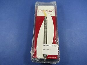 Dental 12 Unc Colorvue Probe Kit 1 Handles 7 Tips Pcvnckit6 Hu Friedy