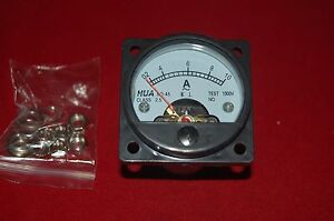 Ac 0 10a Analog Ammeter Panel Amp Current Meter So45 Directly Connect