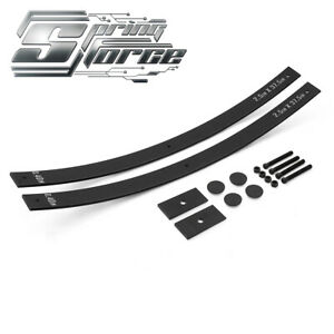 2 Lift Long Add A Leaf Kit W Shims 99 07 Gmc Sierra 1500 Classic