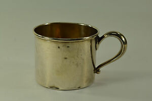 Antique Sterling Silver Baby Cup By Webster Co 4527