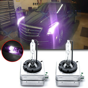 D1s 12000k Purple Hid D1r D1c Replacement Lights For Low Beam Headlights Set