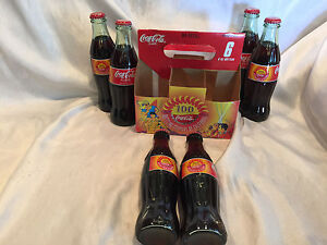 2002 Coca-Cola 100th Anniversary Bottling Company of California 8oz Bottles 6 Pk
