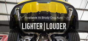 2015 2017 Ford Mustang V6 i4 2 3l Slp Loud Mouth Lm 1 Axle Back Exhaust 620061