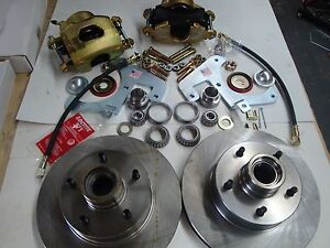 1951 1952 1953 1954 Chevy Belair 210 Front Disc Brake Complete Kit Conversion