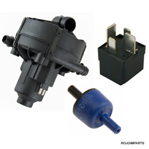 Mercedes Secondary Air Injection Smog Air Pump Relay Check Valve Quality New